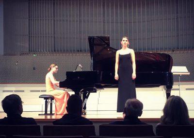 Preisträgerkonzert Paula Salomon Lindberg-Wettbewerb, mit Daria Tudor