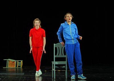 Hänsel (Hänsel und Gretel), mit Charlotte Schetelich, UdK Berlin © Patrick Reu